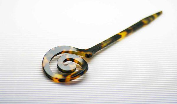 Spillone per maglieria in acetato a spirale